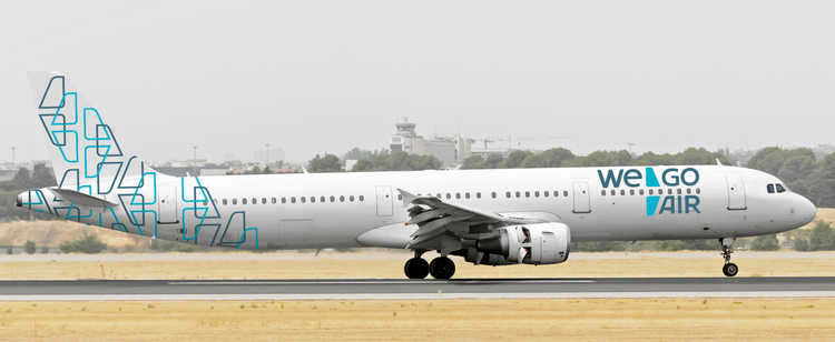 самолет Wego Air